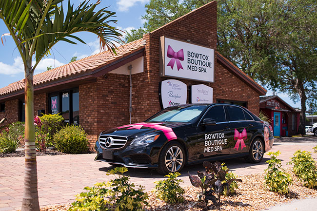 Bowtox Boutique Sarasota office